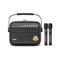 Loa Karaoke bluetooh Xách Tay Công Suất  lớn 100W 2 mic K9 Wking - Hàng chính hãng