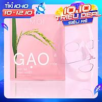 Mặt Nạ Gạo Trong Suốt M.O.I RICE HYDROGEL MASKS (3 Miếng/Hộp) Hồ Ngọc Hà