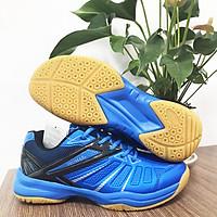 Giày cầu lông, bóng bàn Promax PR-19004 chuyên dụng dành cho nam và nữ, đế cao su non siêu bền, da PU màu Xanh dương đủ size từ 36-44