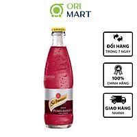 Schweppes Taste of Pomegranate 250ml - Nước ngọt có ga hương vị quả lựu SCHWEPPES 250ml