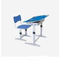 Bộ bàn ghế học sinh Xuân Hòa BHS-14-07A - Xanh