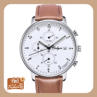 Đồng hồ Onlyou Nam 81153GB Dây Da 42.8mm
