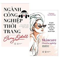 Combo Sách Dành Cho Các Cô Gái: Ngành Công Nghiệp Thời Trang + Skincare Chuyên Nghiệp - (Top Sách Bán Chạy Nhất / Sách Làm Đẹp / Tặng Kèm Postcard Greenlife)