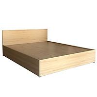 Giường Ngủ Gỗ MDF Phủ Melamine Màu Vân Vàng VIVA