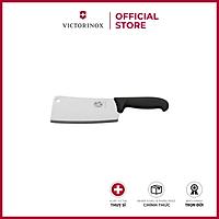 Dao bếp chặt Victorinox Kitchen Cleaver màu đen 19cm -600gr -Fibrox handle 5.4003.19
