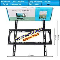 Khung treo Tivi áp tường cho mọi Tivi từ 26-65 inch (bản siêu dày tải trọng lên tới 65kg) - Hàng Nhập Khẩu