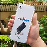 Ốp lưng Samsung Xiaomi Redmi 9A - chống sốc gờ cao 4 góc trong suốt