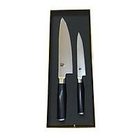 Bộ 2 chiếc dao bếp Nhật cao cấp KAI Shun Classic Chef và Ultility - Bộ dao thái, đa năng DMS-220 - Dao bếp Nhật chính hãng