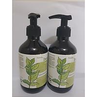 Combo 2 chai nước rửa tay khô Dera 300ml Sát khuẩn, loại bỏ tới 99.99 % vi khuẩn cũng như virut.