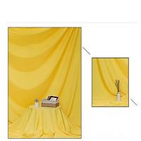 Phông vải đơn sắc vàng 2.9x3m