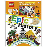 LEGO Epic History: Includes Four Exclusive LEGO Mini Models (Lego Book & Toy)