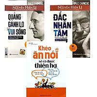 Combo 3 cuốn: Đắc Nhân Tâm Bí Quyết Để Thành Công + Khéo ăn nói sẽ có được thiên hạ + Quẳng Gánh Lo Đi Và Vui Sống
