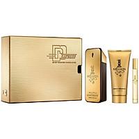 Bộ Nước Hoa Nam Paco Rabanne 1 Million Gift Set Chai 100ml + Shower Gel 100ml + Mini 10ml