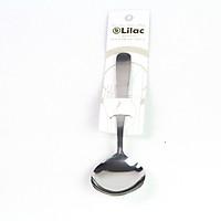 Muỗng inox Echo metal - Lilac - size 17cm