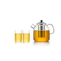 Bộ bình lọc trà thủy tinh Samadoyo S09023 1300ml