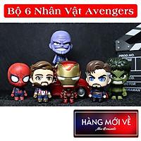 [6 Nhân Vật ] Bộ mô hình đồ chơi 6 nhân vật siêu anh hùng Avengers CosBaby Siêu Đẹp , mô hình trang trí nhựa - hàng nhập khẩu