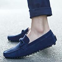 Giày Lười Da Lộn Thời Trang Cho Nam