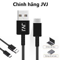 Cáp sạc Type-C 1m JVJ - truyền dữ liệu cổng USB hỗ trợ sạc nhanh, tương thích cho cho các dòng máy cổng Type-C -Hàng chính hãng