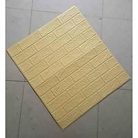 Xốp dán tường giả gạch 3D - Khổ 70x77cm
