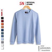 Áo Nỉ Nam 5S Cổ Tròn (11 màu), Chất Cotton Cao Cấp, Vải Trơn, Phom Ôm Trẻ Trung, Màu Sắc Cơ Bản Dễ Phối Đồ (ANI21013)