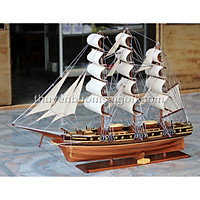 Thuyền buồm gỗ Cutty Sark trang trí dài 97 cm