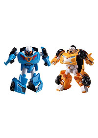 Combo Đồ Chơi Mô Hình Young Toys Mini Tobot X Và Mini Tobot Y