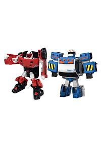 Combo Đồ Chơi Mô Hình Young Toys Mini Tobot Z Và Mini Tobot Zero