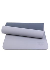 Thảm Tập Yoga TPE 2 Lớp ZERA-8MM-2L-XAM - Xám