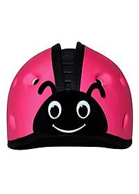 Mũ Bảo Vệ Đầu Cho Bé Mumguard Hình Bọ Cánh Cam - Hồng