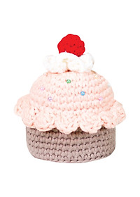 Cupcake Đào Bobi Craft WT-223ORG
