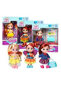 Combo Đồ Chơi Búp Bê Little School Girl Jouju, Fairy Lilly Và Fairy Sasha