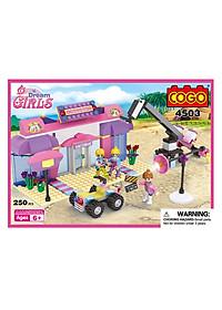 Mô Hình Nhà Xe COGO 4503 (250 Mảnh Ghép)