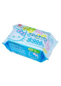 Combo 3 Khăn Ướt Nhật LEC SS232 Hello Kitty (80 Tờ x 3)