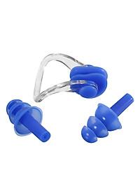 Combo Kính Bơi, Mũ Bơi, Bịt Tai Kẹp Mũi POPO Sport Set2360-Blue - Xanh Dương-3