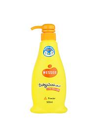 Sữa Tắm Gội Wesser 2in1 Hương Phấn (500ml) - Cam