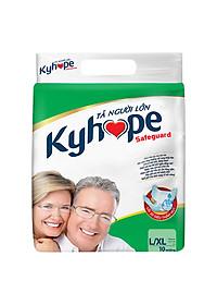 Tã Người Lớn Kyhope Safeguard Size L (10 Miếng)