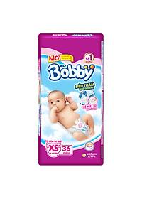 Tã Dán Sơ Sinh Bobby Siêu Mỏng XS36 (36 Miếng)
