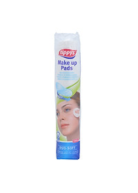 Bông Tẩy Trang Tippys Dou Soft (100 Miếng)