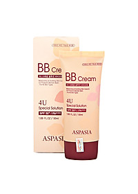 Kem Nền Aspasia 4U Special B.B Solution Cream SPF50 PA+++ (50ml)