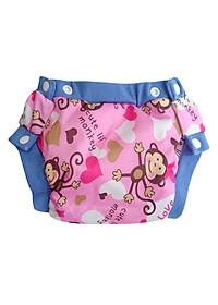 Tã Vải Dorabe Bo Thời Trang LBKHIHONG Size L (12-24kg) - Khỉ Hồng
