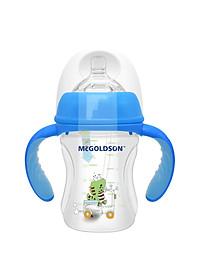 Bình Sữa PP Cổ Rộng McGoldson CR180 (180ml) - Màu Ngẫu Nhiên