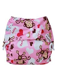 Tã Vải Dorabe Ban Ngày LNKHIHONG Size L (12-24kg) - Khỉ Hồng