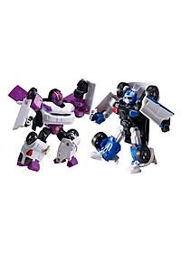 Combo Đồ Chơi Mô Hình Young Toys Mini Tobot C Và Mini Tobot W