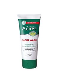 Gel Rửa Mặt Ngăn Ngừa Mụn Tuổi Trưởng Thành Acnes 25+ Facial Wash (100g)