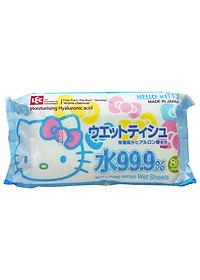 Khăn Ướt Nhật LEC SS237 Hello Kitty (80 Tờ)-1