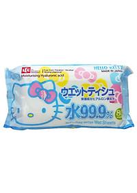 Khăn Ướt Nhật LEC SS237 Hello Kitty (80 Tờ)-0