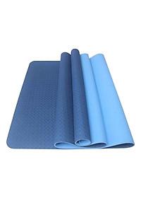Thảm Tập Yoga TPE 2 Lớp Zera 8MM2L (8mm) - Xanh Dương