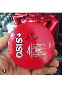 Sáp vuốt tóc  cứng Schwarzkopf Professional OSIS+ Flexwax Ultra Strong Cream Wax 85ml-4