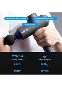 Máy Massage Cầm Tay YUNMAI Deep Fascia Massage Guns 3 Modes 4 Heads Handheld Rechargeable Deep Muscle Tissue Massager-6