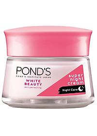 Bộ Đôi Kem Dưỡng Da Ngày Và Đêm Trắng Hồng Rạng Rỡ Pond's White Beauty (50g)-1